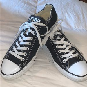 Converse Shoes - Black and White Converse Sneakers Size 10